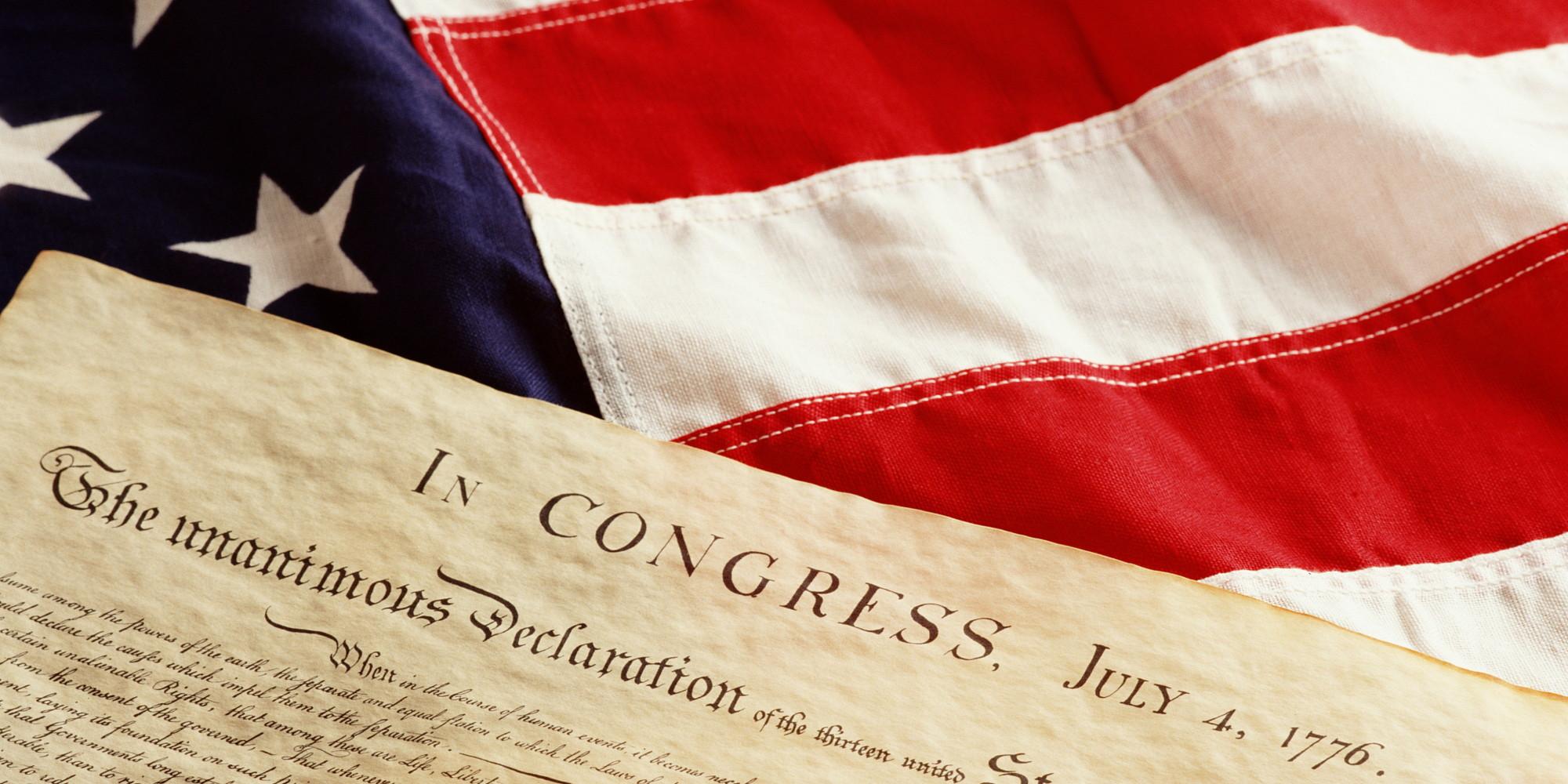 Декларация независимости США.
