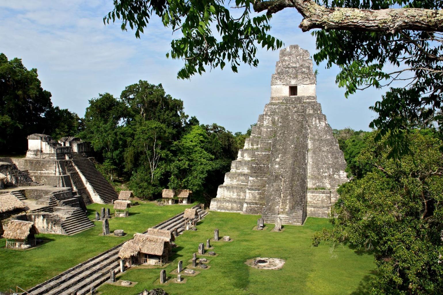 Тикаль некогда был крупнейшим центром цивилизации майя.