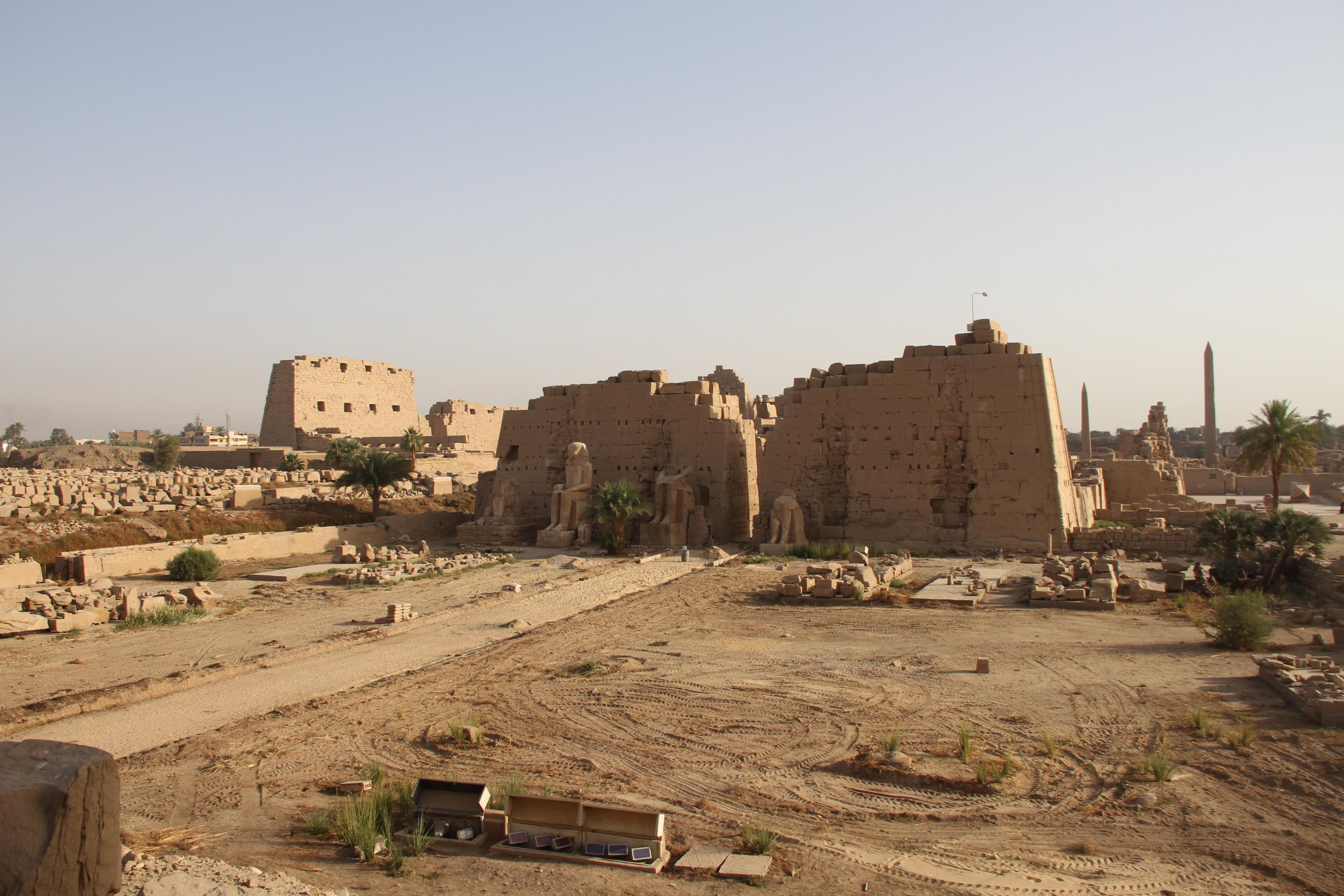 Храмовый комплекс вКарнаке