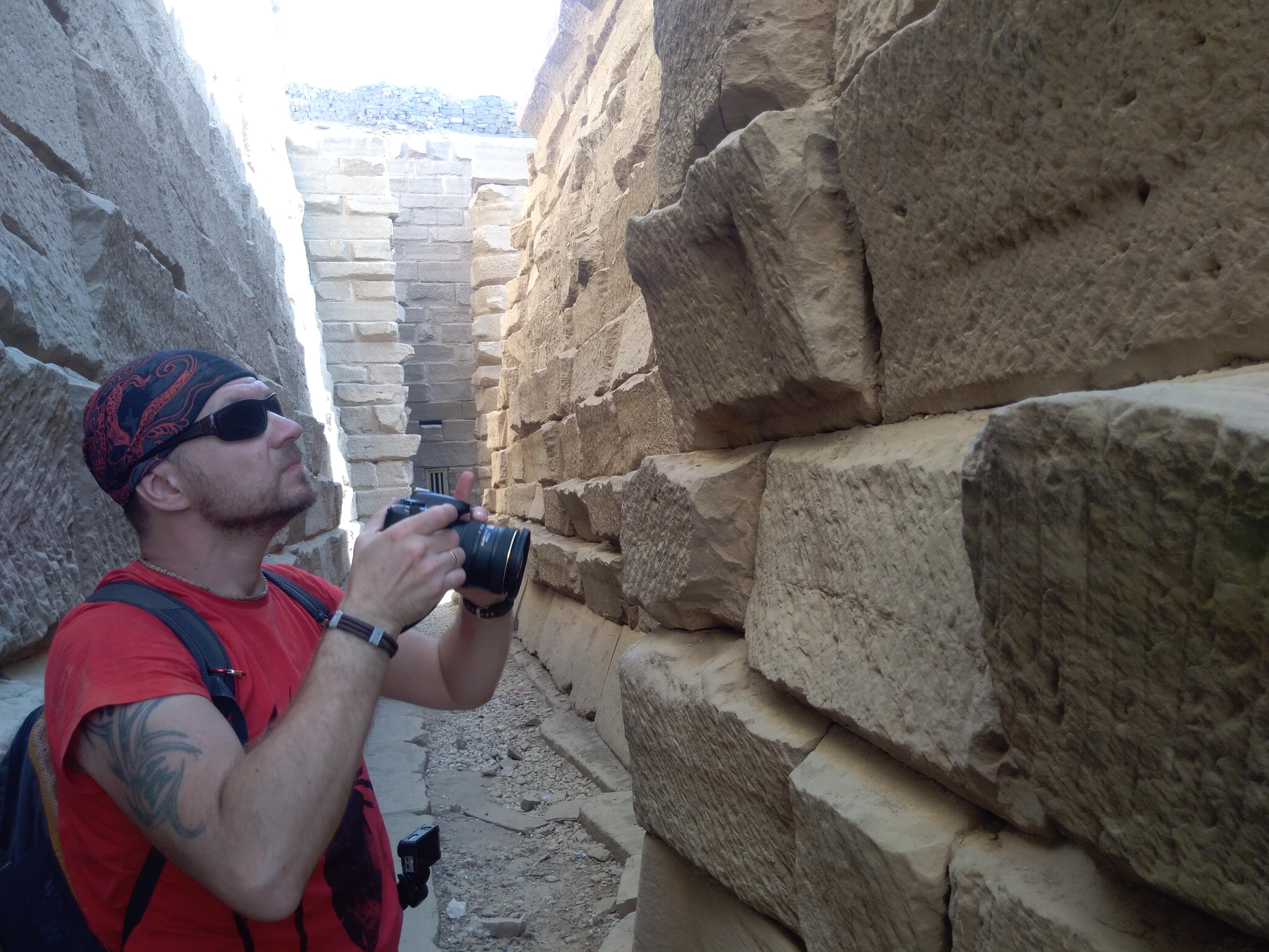 Незаконченная стена храма Сети II вКарнаке