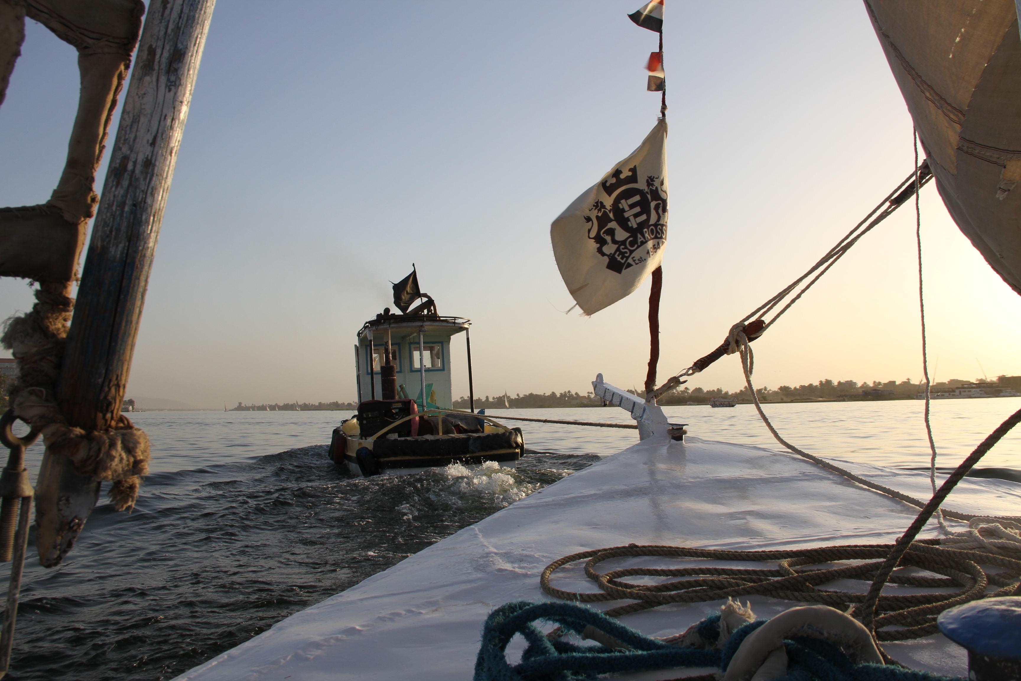 На буксире по Нилу