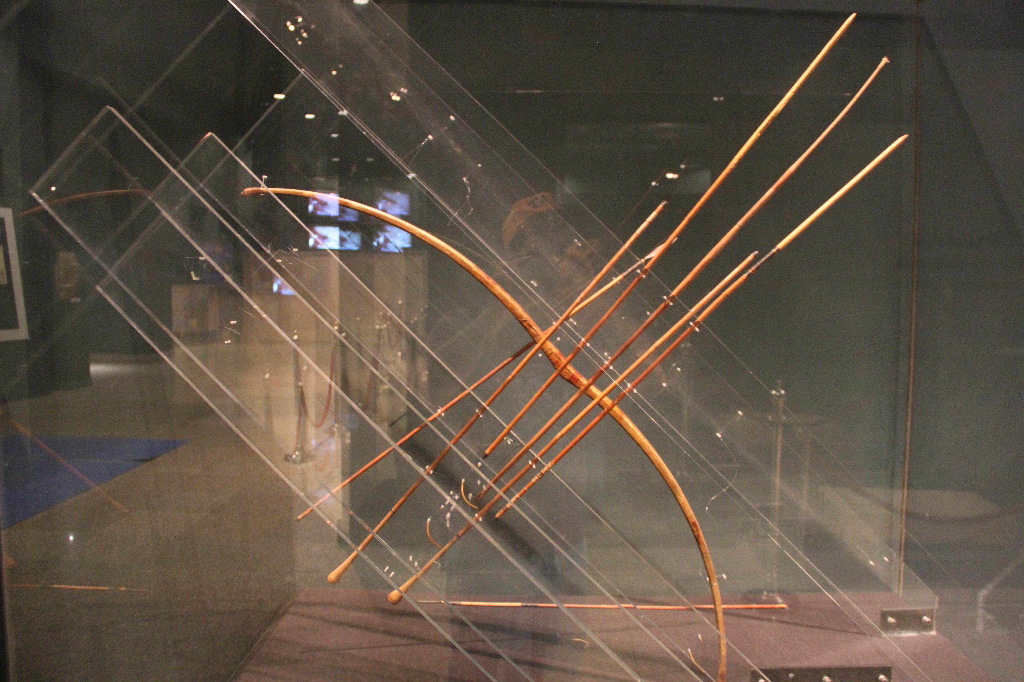 Лук со стрелами. Луксорский музей