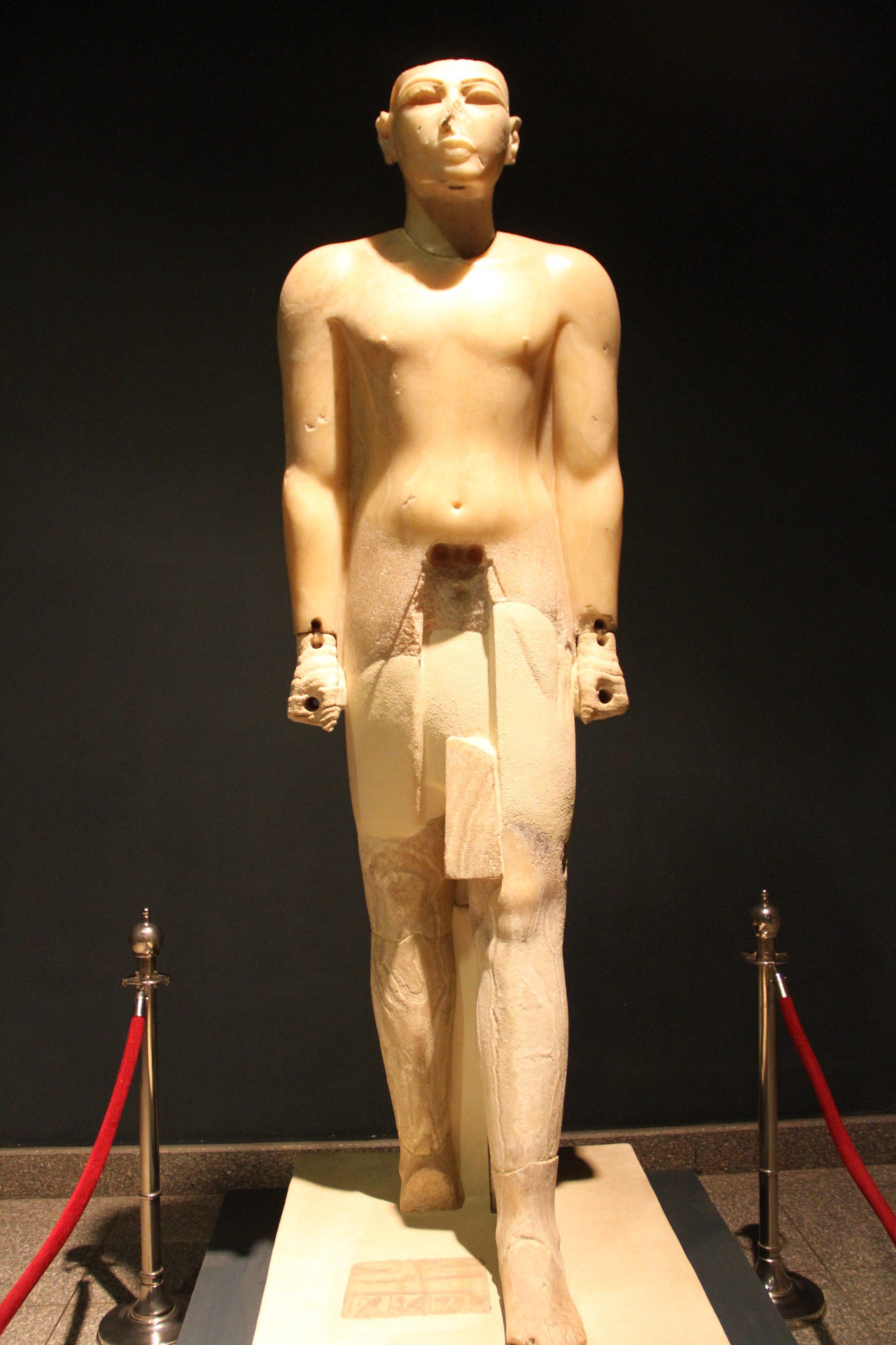 Статуя Сети I. Луксорский музей