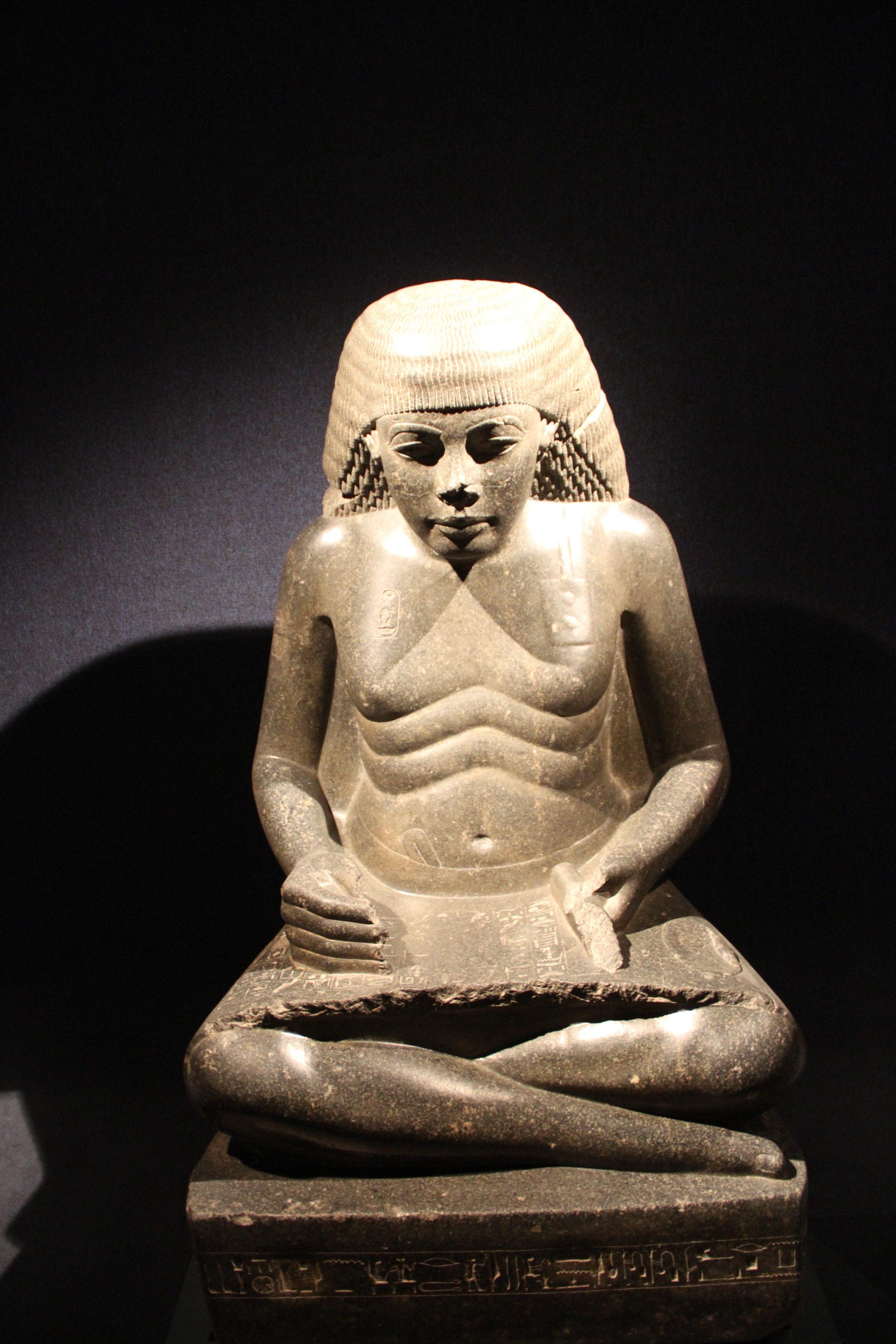 Статуя Аменхотепа. Луксорский музей