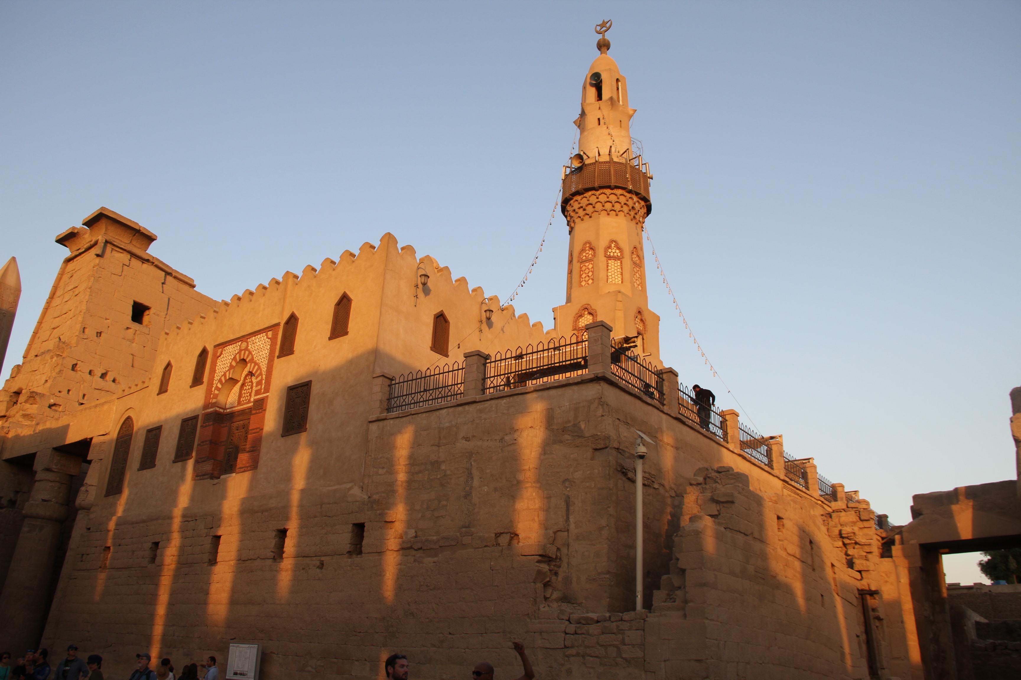 Мечеть вЛуксорском храме