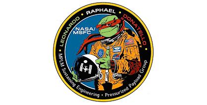 Рафаэль вскафандре— официальный логотип многоцелевых модулей снабжения
