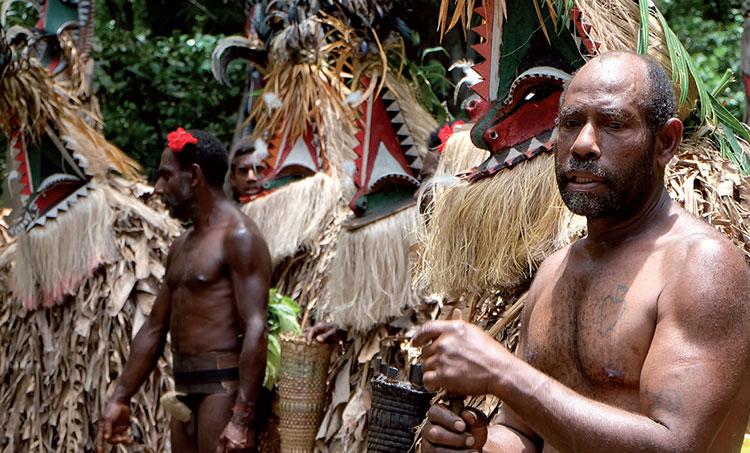 Аборигены Меланезии.