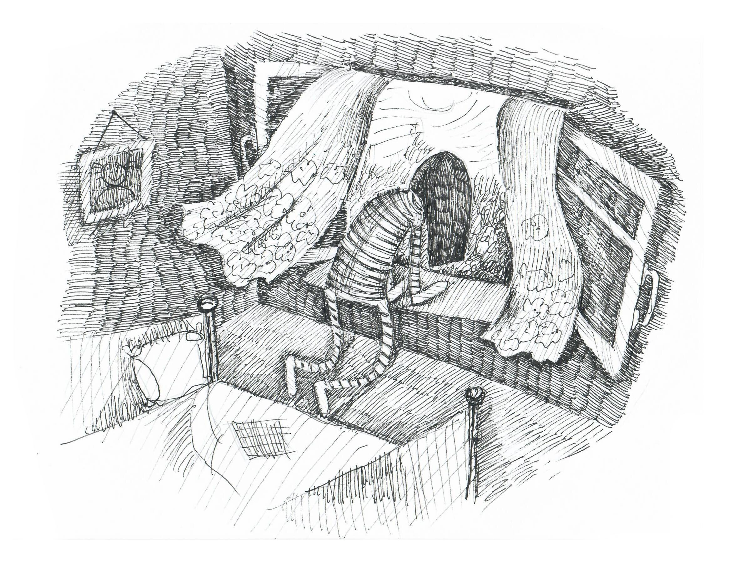 Открывая окна настежь, Екатерина пыталась справиться сощущением нехватки воздуха, субъективным, но оттого неменее мучительным.