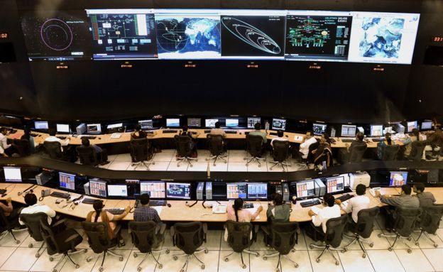Управление спутником— непростая задача.