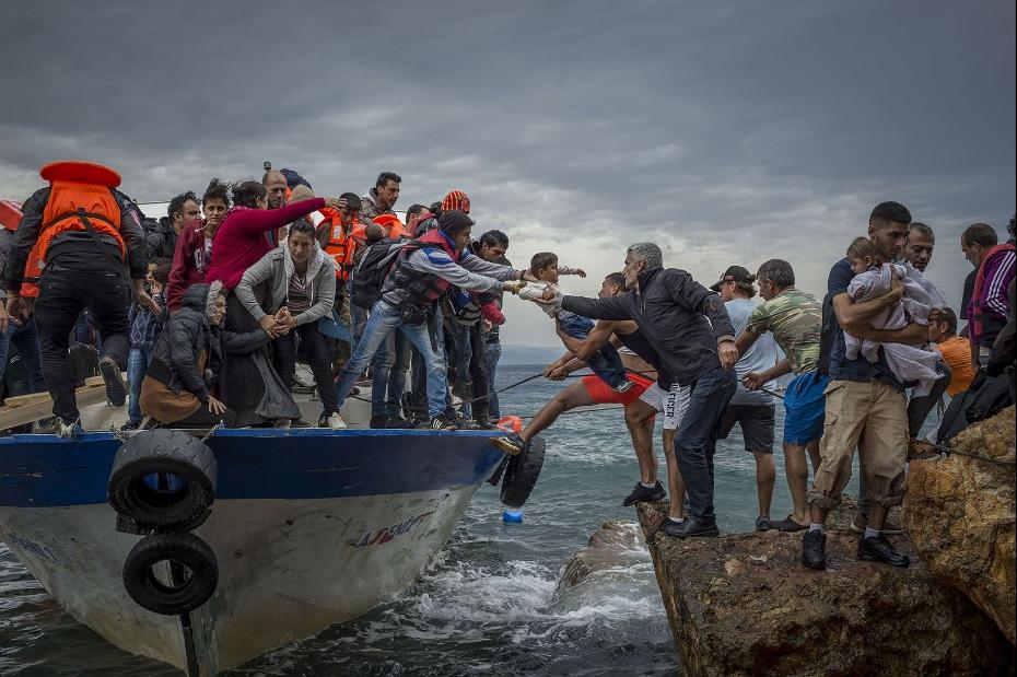 Европейский «кризис» беженцев. Это было так.