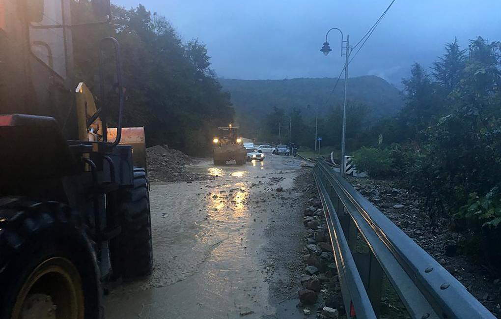 ВКраснодарском крае— наводнение. Фото: ТАСС