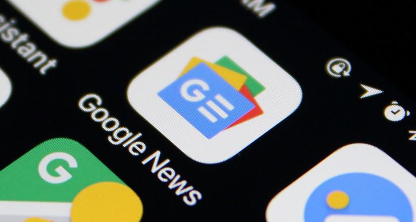 Есть ли увас нателефоне приложение <i>Google News</i>?