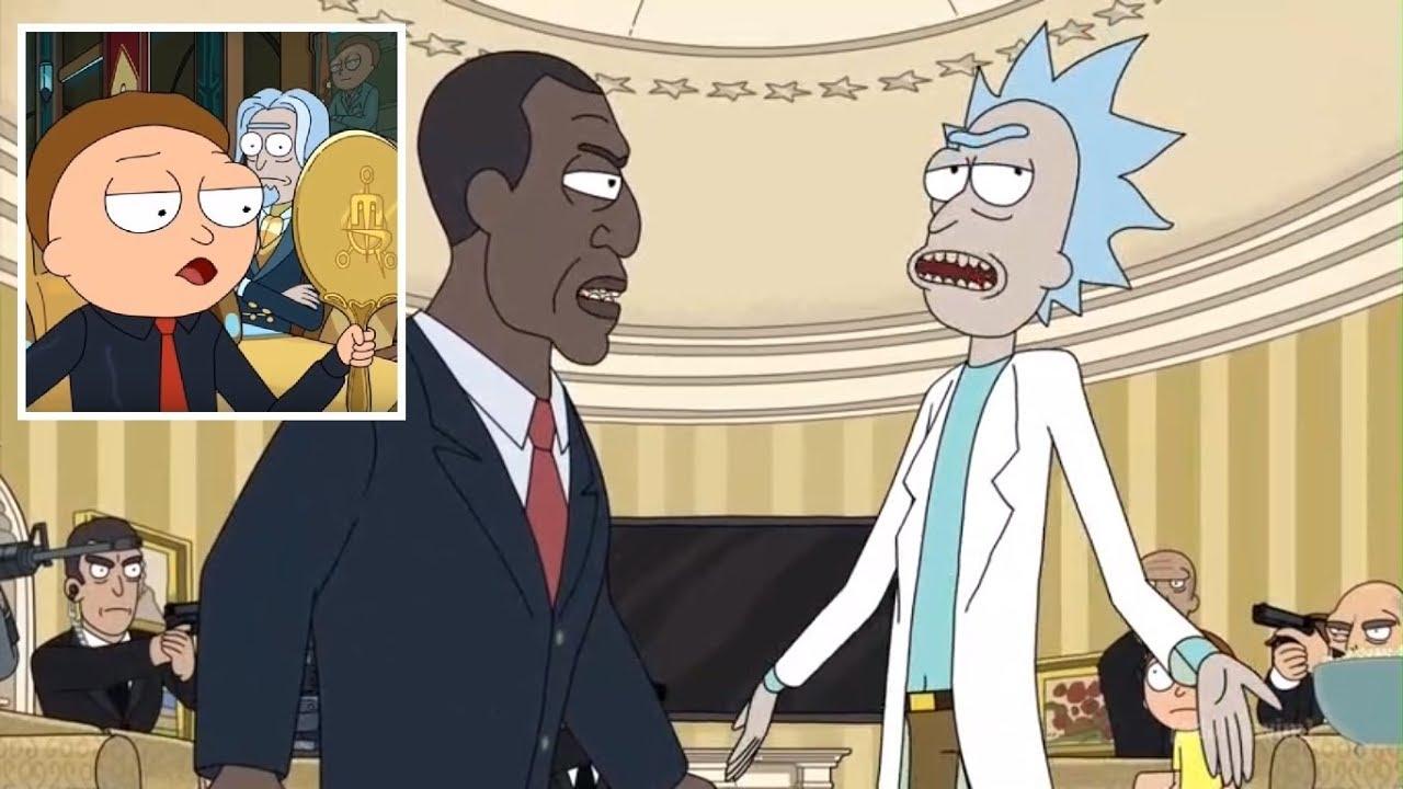 Скриншот из сериала Рик иМорти.