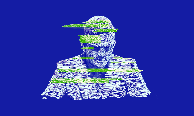 Иллюстрация. «Алан Тьюринг», дизайнер @tsarcyanide, пресс-служба МФТИ.