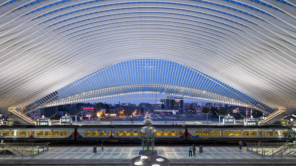 Вокзал Льеж-Гиймин.