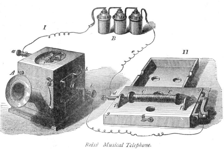 Изображение телефона Райса из книги Томпсона.