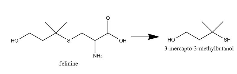 Фелинин, структурная формула