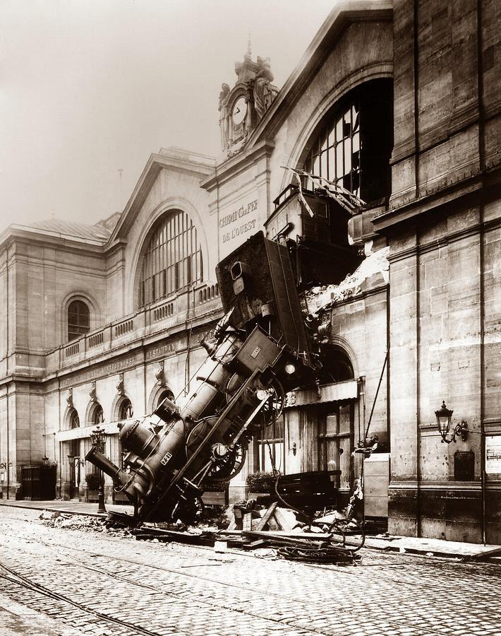 Инцидент навокзале Монпарнас.