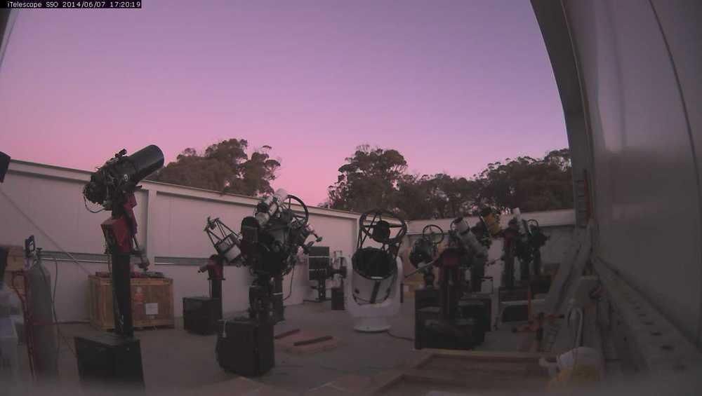 Телескопы обсерватории Сайдинг-Спринг (Австралия).