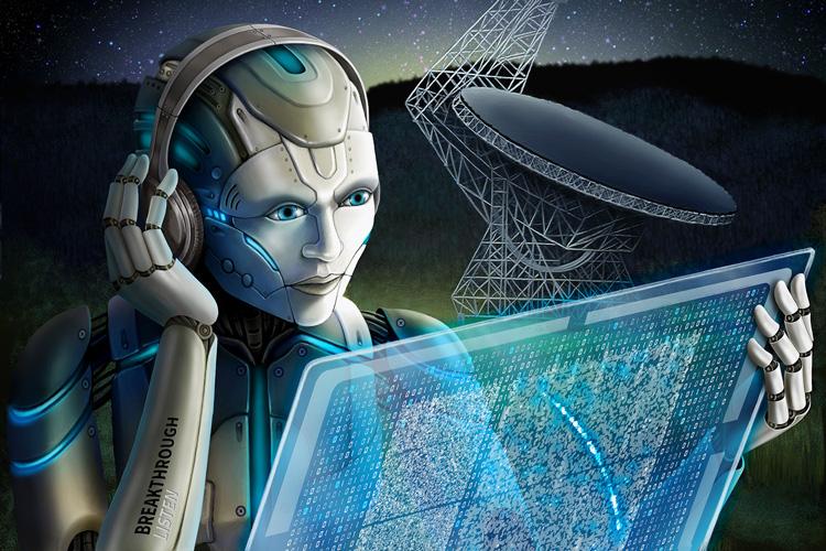 ИИ ищет быстрые радиовсплески