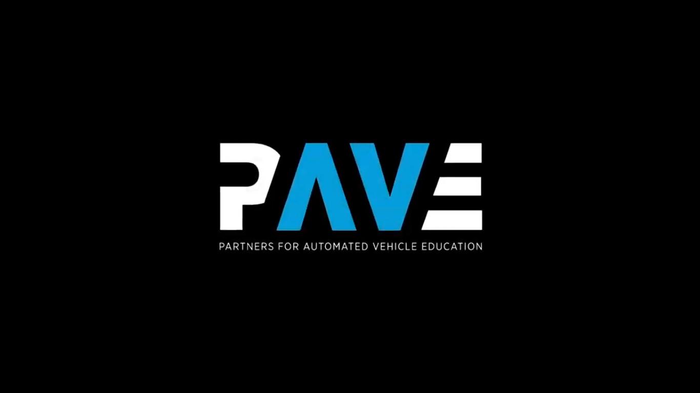 PAVE— партнёрство для информирования обеспилотных автомобилях.