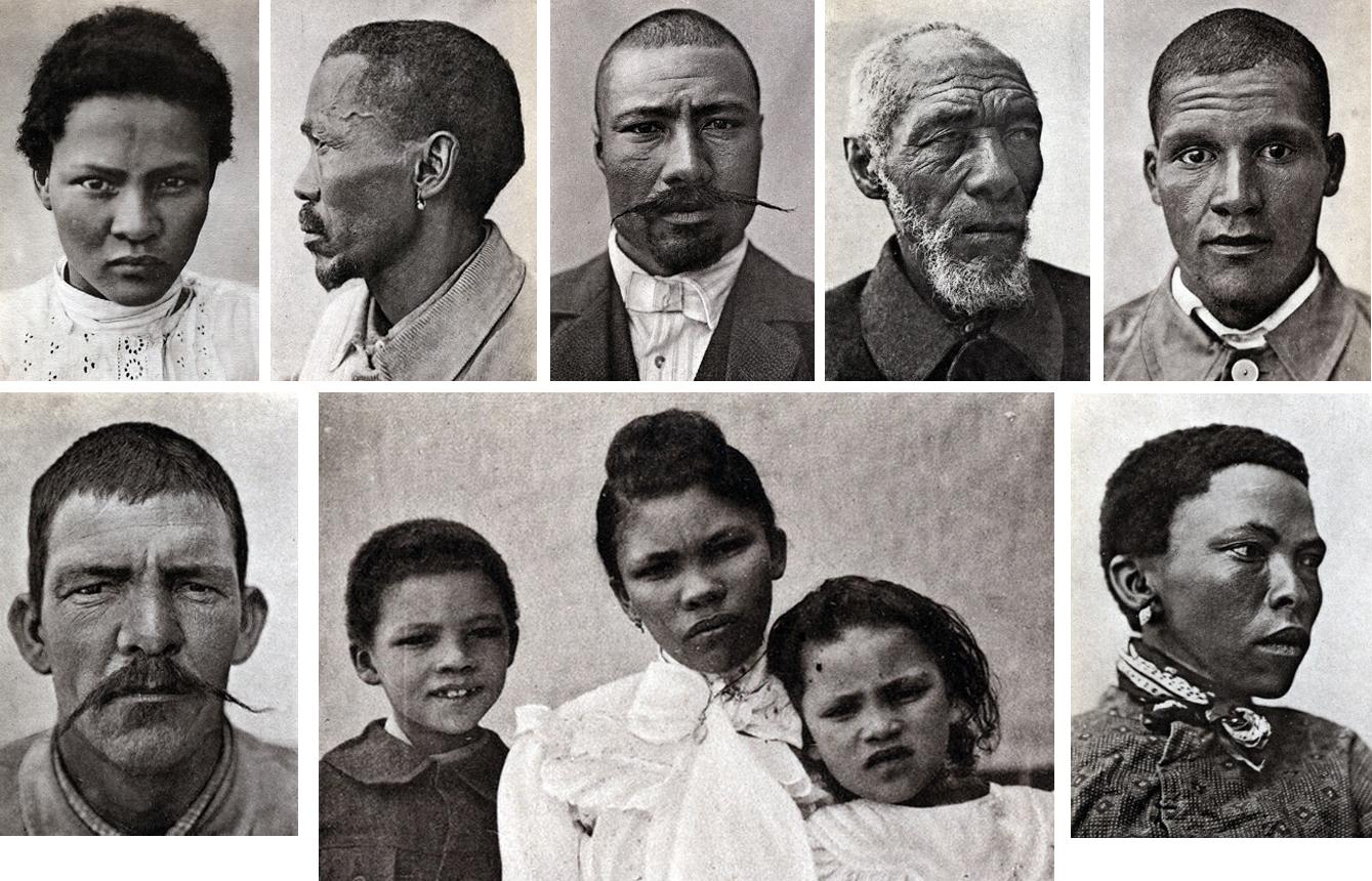 Портреты бастеров из книги О. Фишера