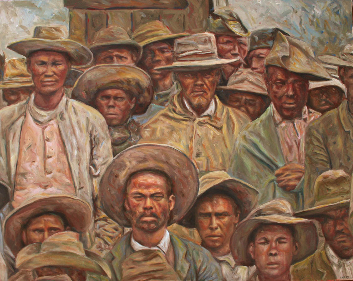 Гриква. Картина южноафриканского художника Кобуса ван Боша.