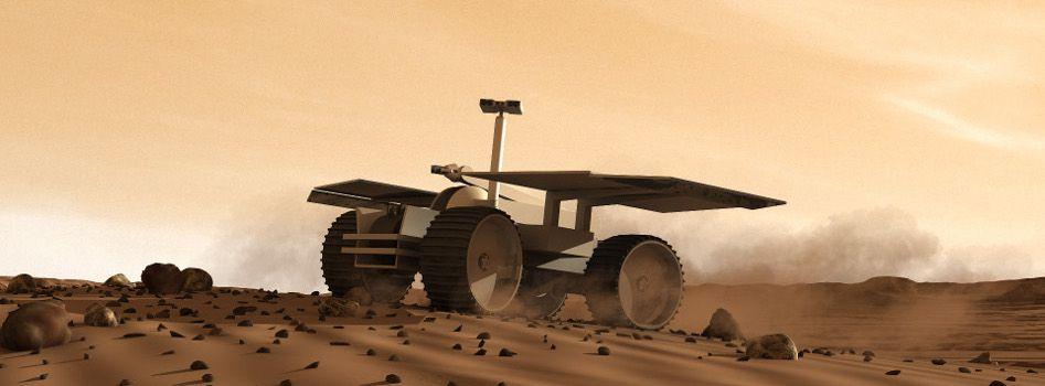 Так мог бы выглядеть ровер Mars One наМарсе.