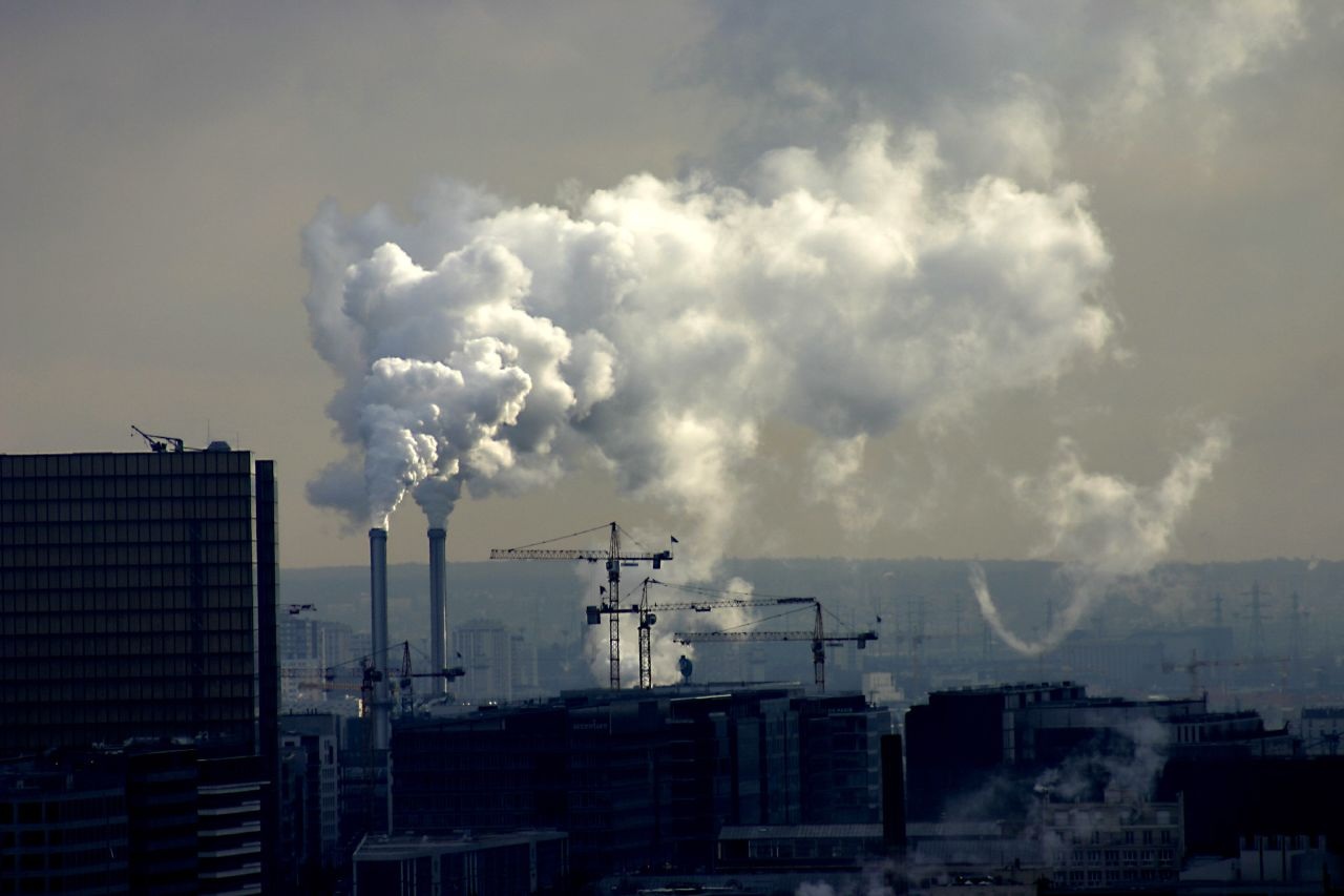Загрязнение воздуха убивает больше людей, чем курение