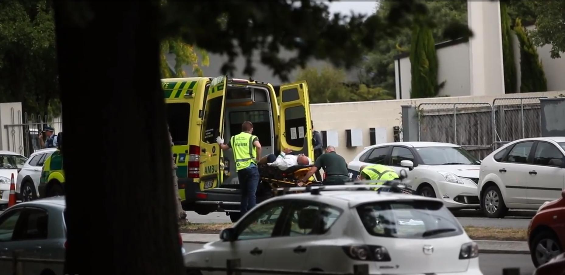 Новая Зеландия. Нападение намечети— много убитых ираненых.