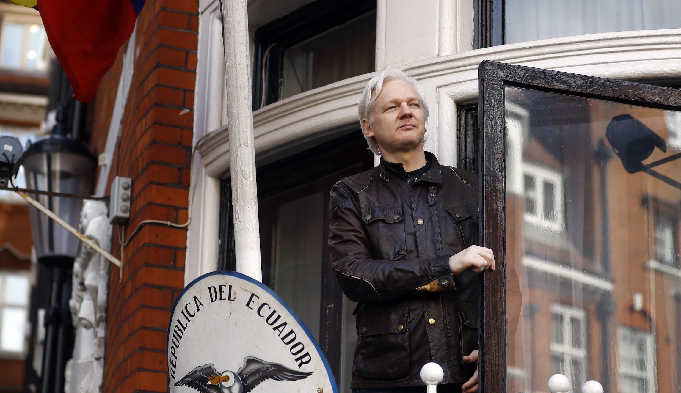 Джулиан Ассанж. Семь лет впосольстве Эквадора вЛондоне закончились арестом.