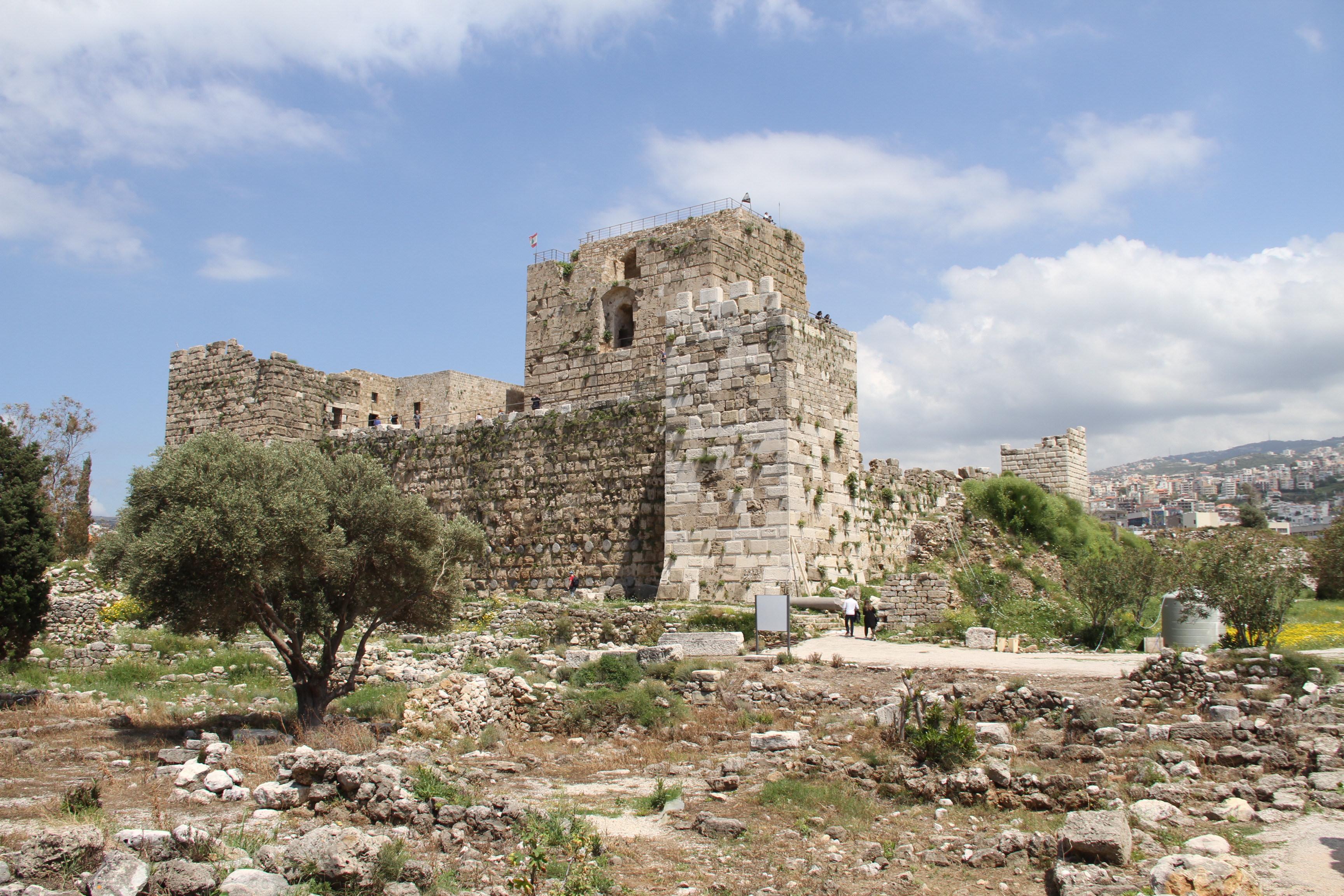 Крепость крестоносцев вБиблосе