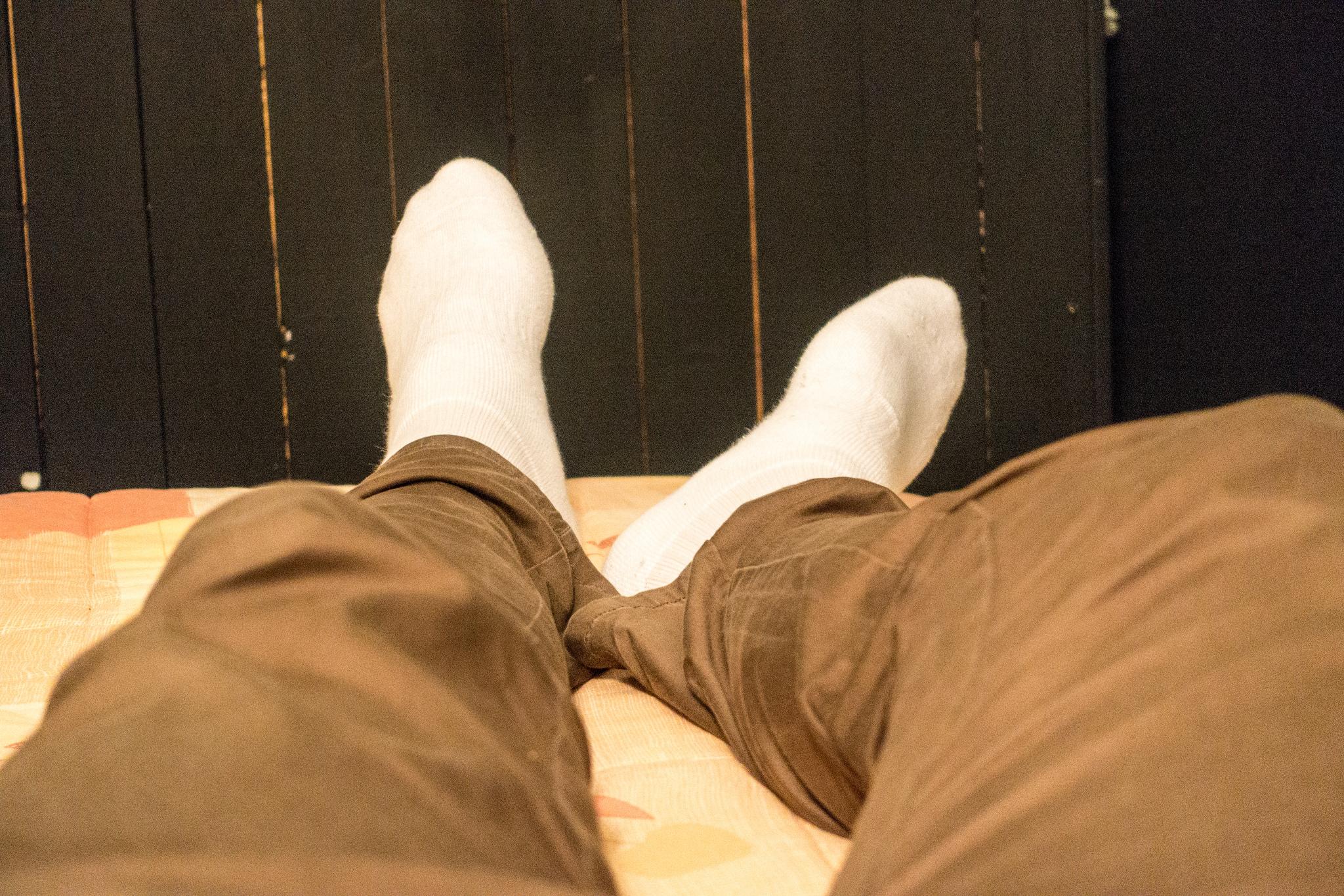 Остерегайтесь пагубной привычки нюхать свои носки.