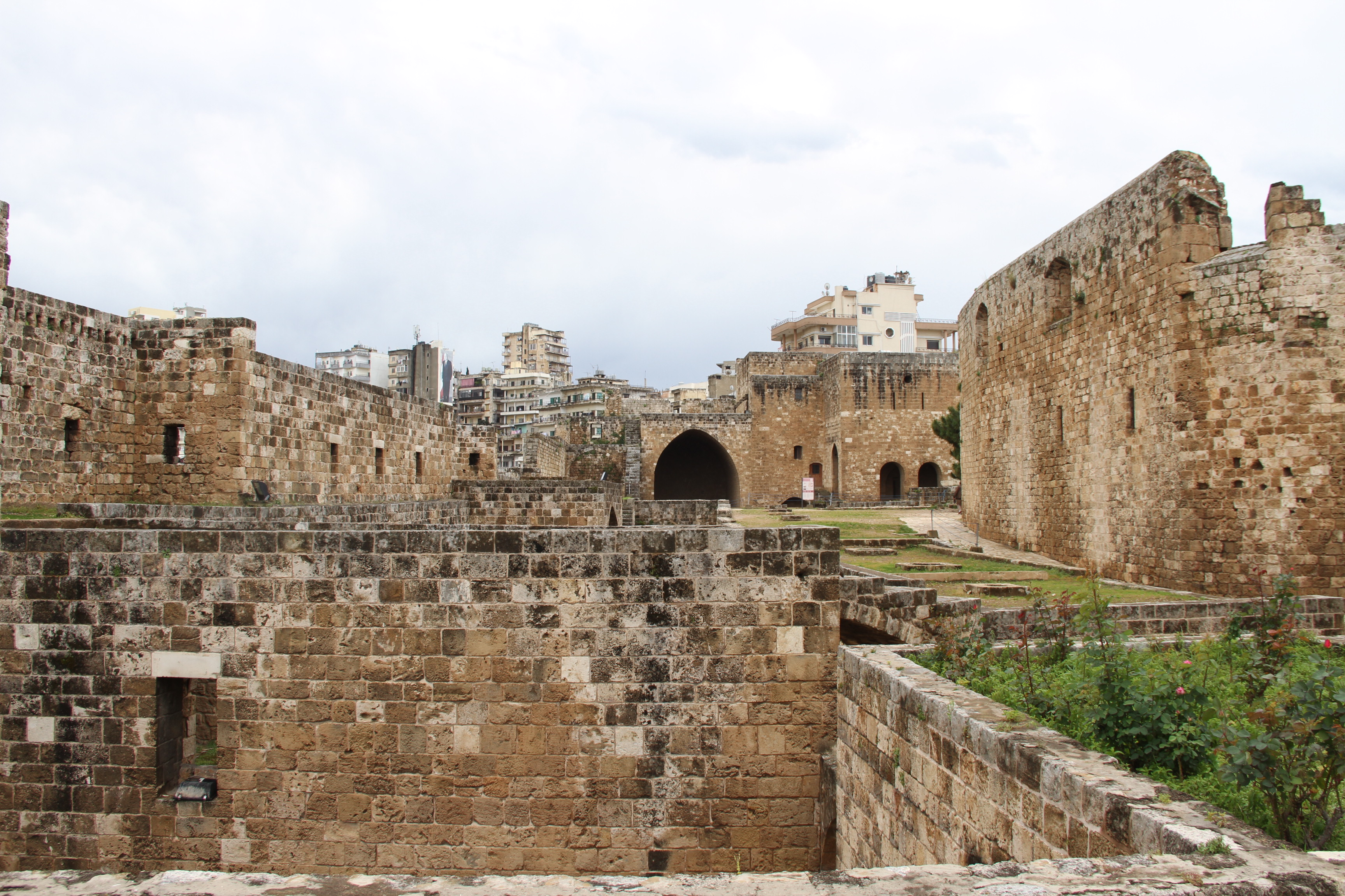 Крепость крестоносцев вТриполи