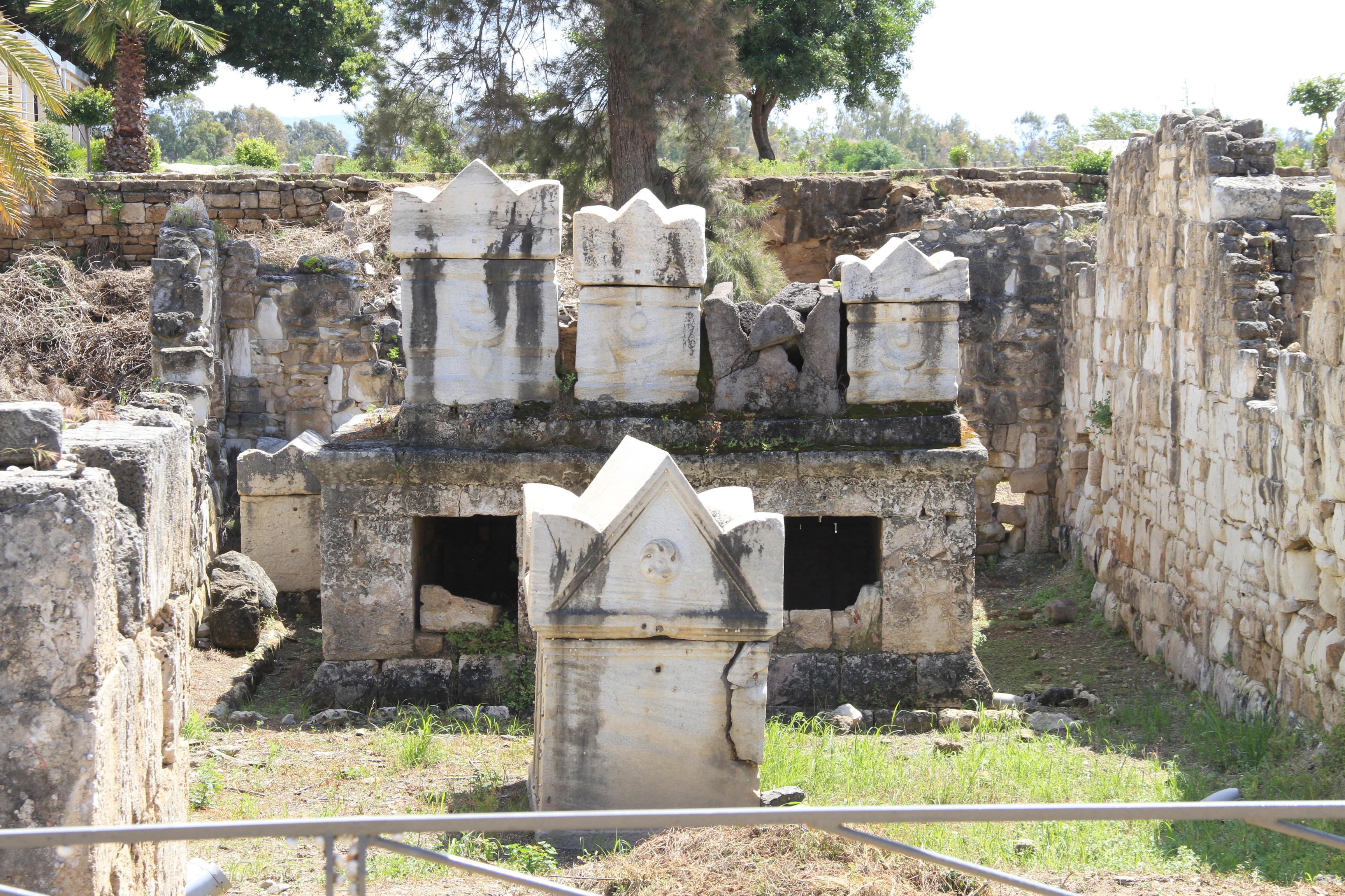 Римский некрополь вТире