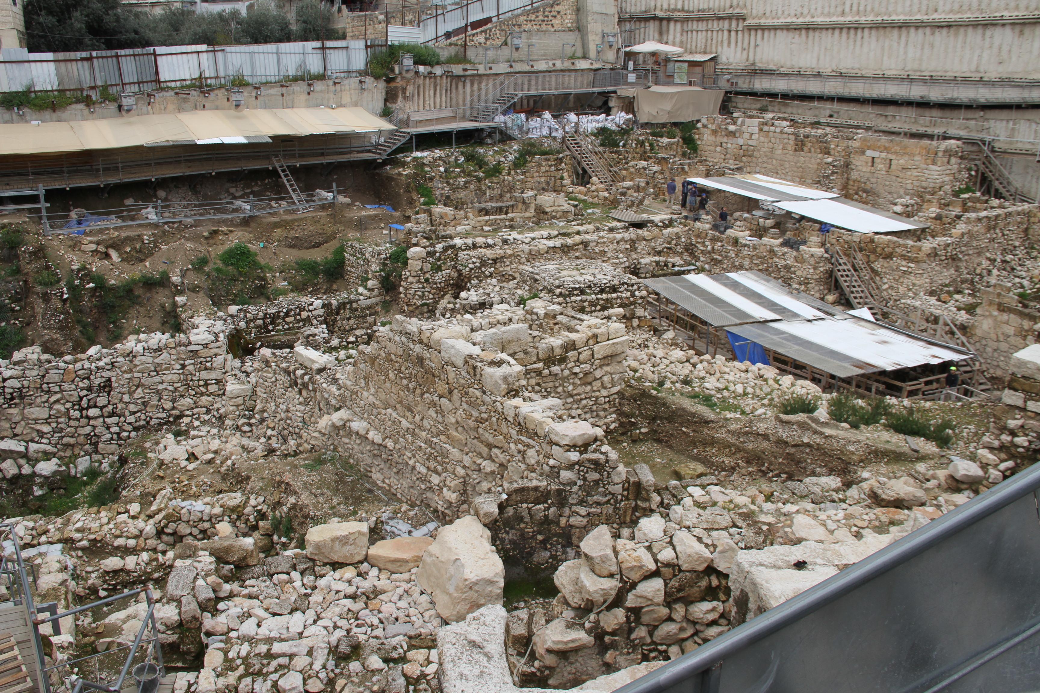 Крупнейший археологический раскоп вИерусалиме