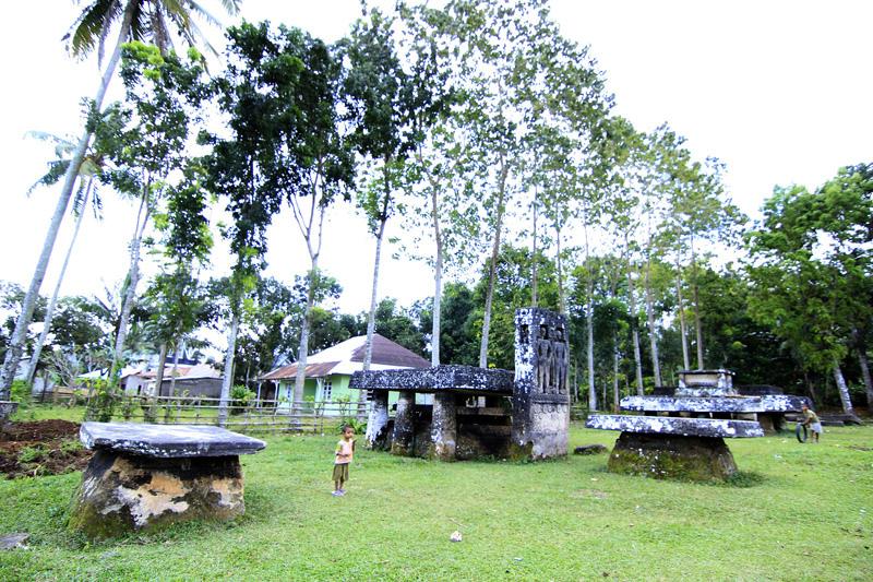 Анакаланг, комплекс мегалитических сооружений вцентральной части о. Сумба