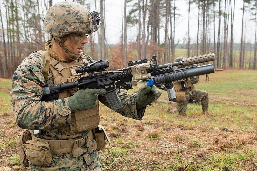 Drone-40 создан для использования с40-мм подствольным гранатомётом M320.
