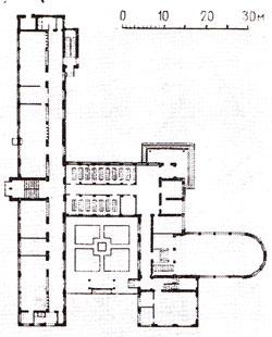 Изображение 4— План школы наКрымской площади.