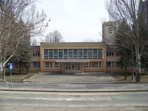 Изображение 8— Школа №5, фронтальный вид.