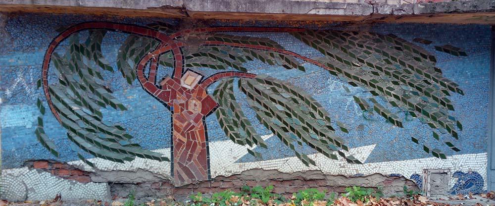 Изображение 10— Мозаика, дерево.