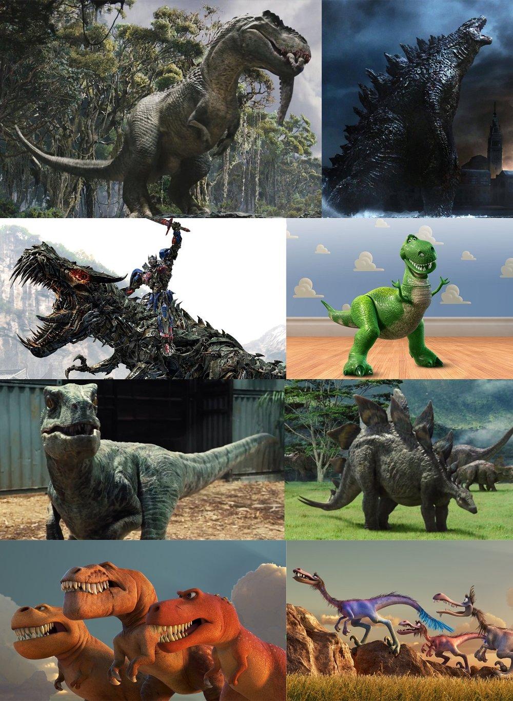 Динозавры Голливуда.