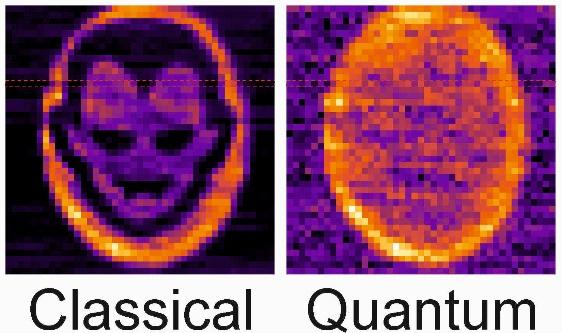 Иллюстрация эффекта «квантового вампира»
