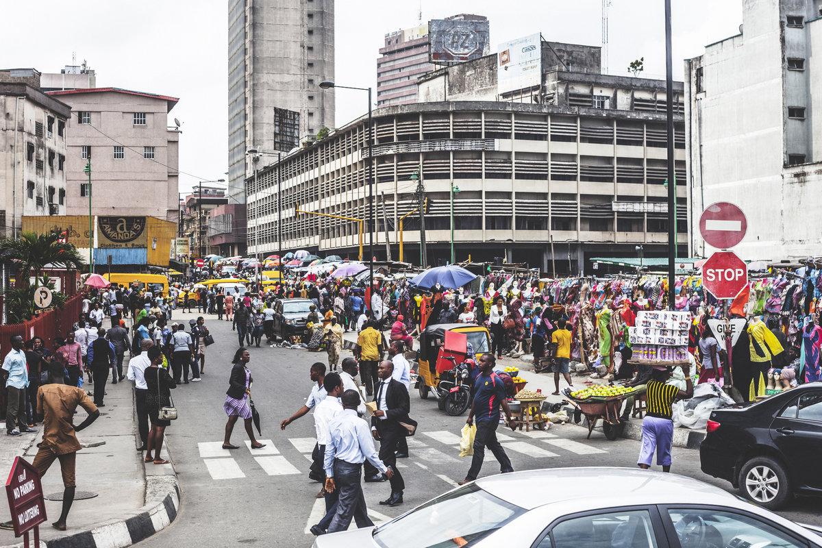 г. Лагос, Нигерия.