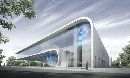 Согласованный проект нового павильона атомной энергии наВДНХ.