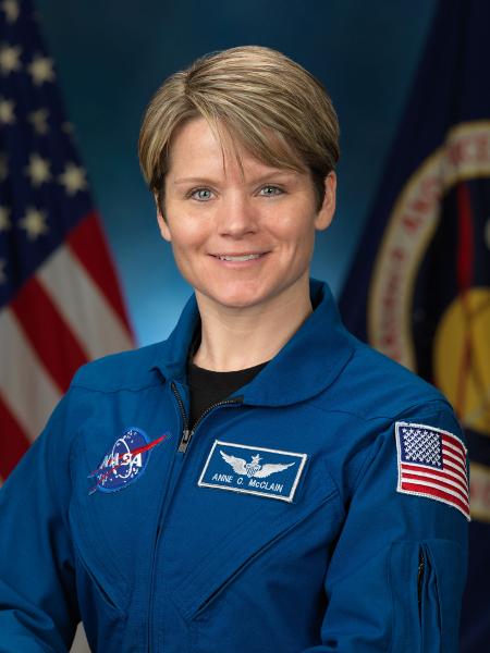 Анн Макклейн подозревают впервом вистории преступлении, совершённом вкосмосе. Фото: NASA.