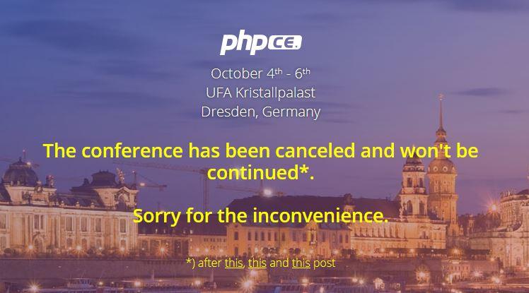 Так сейчас выглядит титульная страница сайта конференции