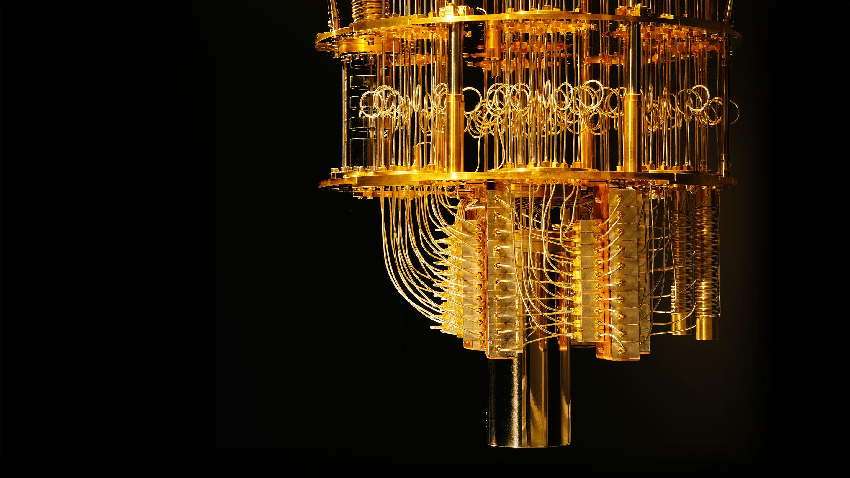 Кубиты <i>Google</i> построены из сверхпроводящих материалов, которые функционируют приочень низких температурах.