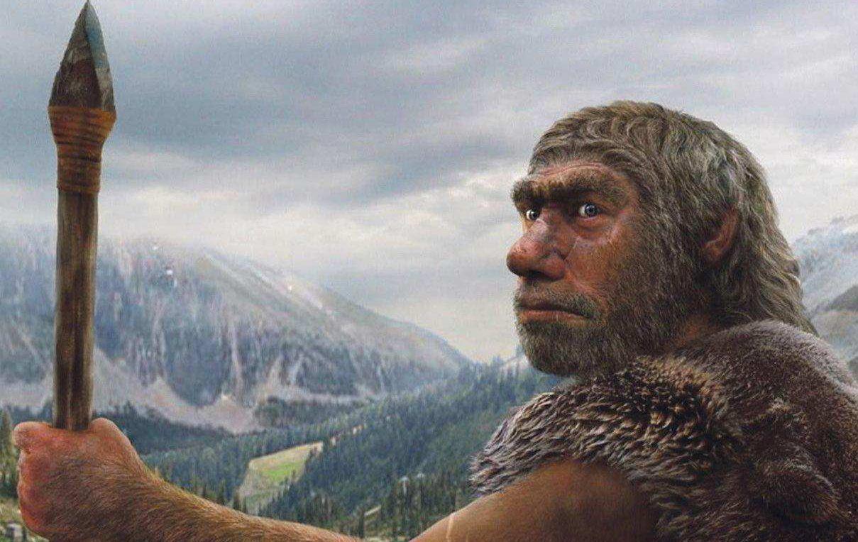 Неандерталец.
