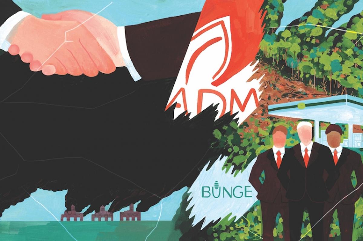 Транснациональные корпорации неспешат бороться сизменением климата, хоть это ивыгодно для них вдолгосрочной перспективе. Иллюстрация Эрин Маккласки (Erin McCluskey).